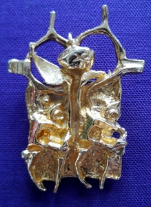 Igael TUMARKIN - Escultura - Brooch and Pendant