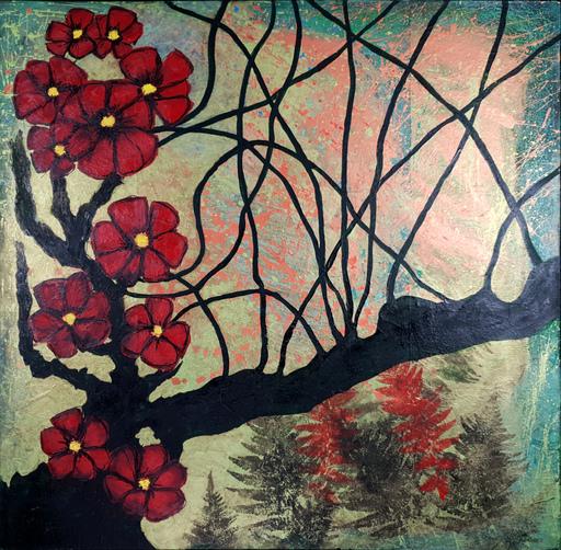 Corine LESCOP - Peinture - Sous les tropiques
