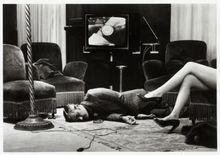Helmut NEWTON - Photo - T.V. Murder, Cannes
