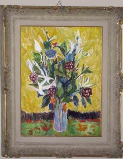 Enrico PAULUCCI - Painting - Fiori