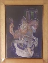 Júlio POMAR - Painting - PORCA NO REVEILLON