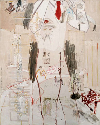 Sandra DETOURBET - Painting - Le Célestine