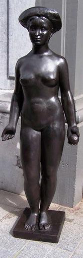 Charles VERHASSELT - Sculpture-Volume - Pomone