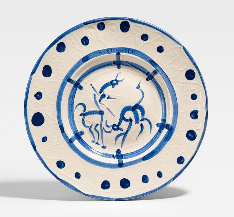 Pablo PICASSO - Ceramic - La pique