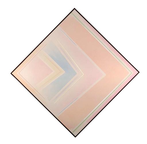 Riccardo GUARNERI - Gemälde - Un celeste tra gli angoli