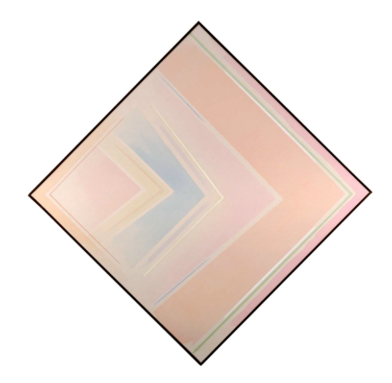 Riccardo GUARNERI - Pintura - Un celeste tra gli angoli