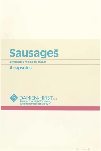 Damien HIRST - Print-Multiple - Sausages, from The Last Supper