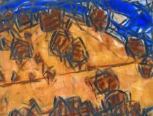 Christian ROHLFS - Painting - Trees on the Hillside | Bäume am Hang