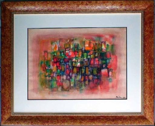 Ideo PANTALEONI - Painting - Composizione 1992