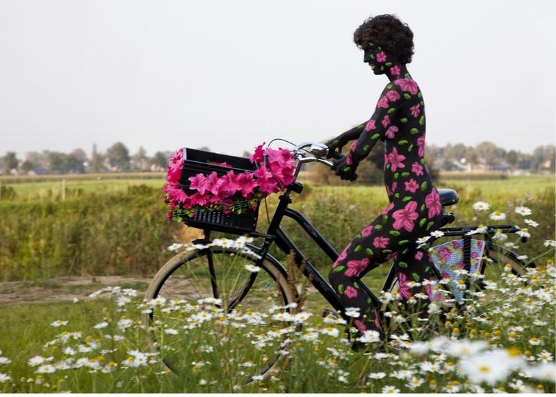 Amit BAR - Photography - Flower girl
