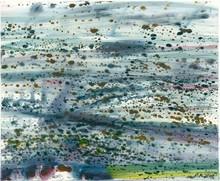 Matthias MEYER - Peinture - Blaues Wasser