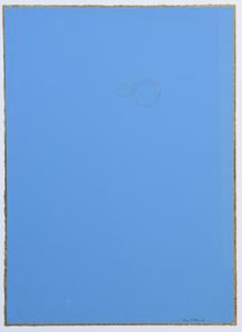 Ettore SPALLETTI - Painting - Colore e foglia oro