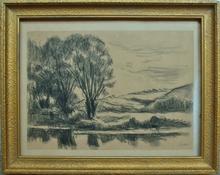 Maximilien LUCE (1858-1941) - Bord de rivière