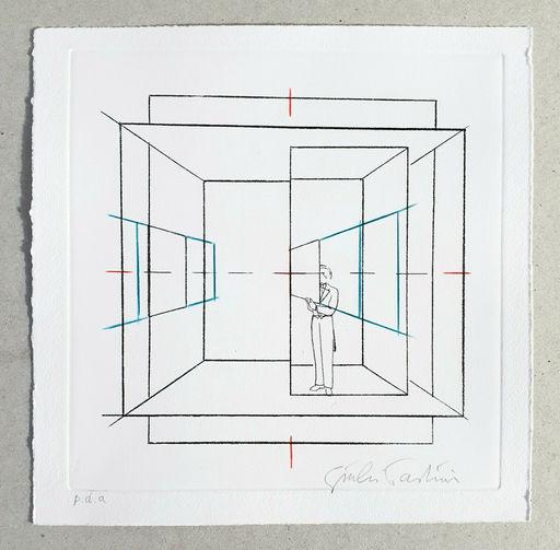 Giulio PAOLINI - Print-Multiple - Cinque esercizi di stile (tav. B)