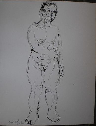 Bernard MOREL - Dessin-Aquarelle - MODELE