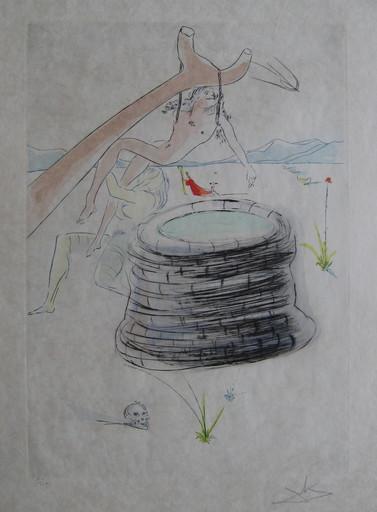 萨尔瓦多·达利 - 版画 - GRAVURE 1975 SIGNÉ CRAYON NUM/250 ML753 HANDSIGNED ETCHING