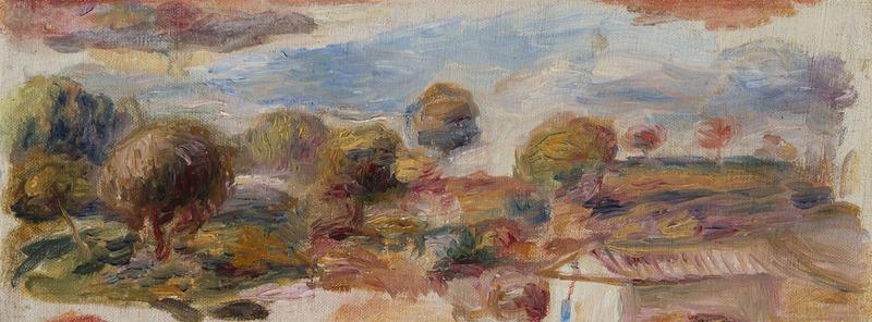 Pierre-Auguste RENOIR - Painting - Paysage du Midi