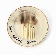 CÉSAR - Céramique - Bougies et traces de fumée