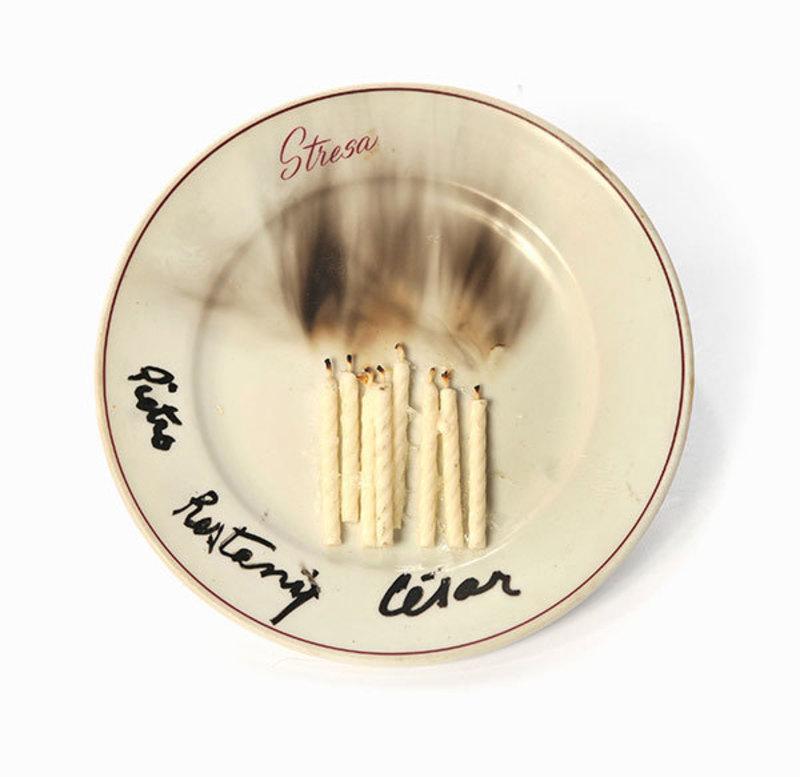 凯撒·巴达奇尼 - 陶瓷  - Bougies et traces de fumée