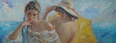 Jose ROYO - Peinture - Fresco de la Brisa