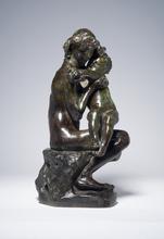Auguste RODIN - Escultura - Frère et soeur