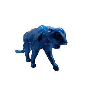 Richard ORLINSKI - Sculpture-Volume -   GALAKTIK BLUE RESIN PANTHER