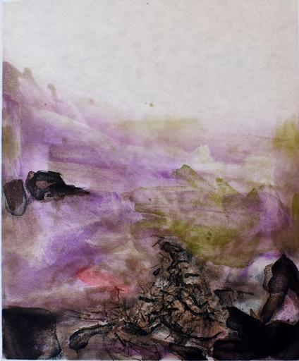 赵无极 - 版画 - Composition V, from: Canto Pisan