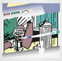 Roy LICHTENSTEIN - Stampa Multiplo - Reflections on Soda Fountain