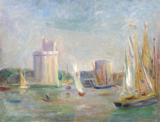 奥古斯特•雷诺阿 - 绘画 - La Rochelle