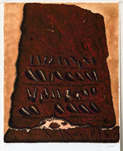 Moshé Elazar CASTEL - Print-Multiple - Secret Writing