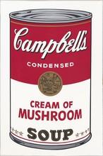 安迪·沃霍尔 - 版画 - Cream of Mushroom (from Campbell's Soup I