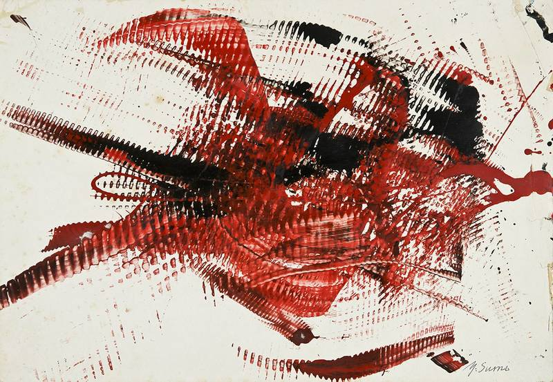 Yasuo SUMI - Painting - Senza titolo