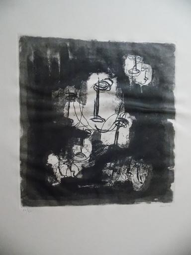 让·福特里埃 - 版画 - etude les otages