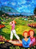 Valerio BETTA (1949) - Donne e golf- Women and golf