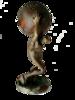 """ARSON - Sculpture-Volume - """"Atlas, le titan tétanisé"""""""