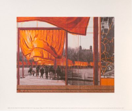 CHRISTO - Estampe-Multiple - The Gates (k)
