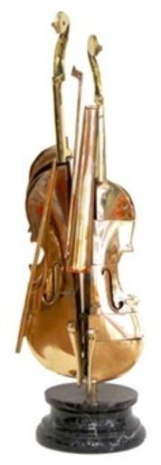 Fernandez ARMAN - Skulptur Volumen - Violon Pizzaiola