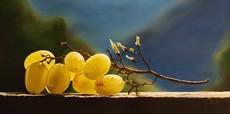 Riccardo GIRAUDO - Painting - Uva gialla