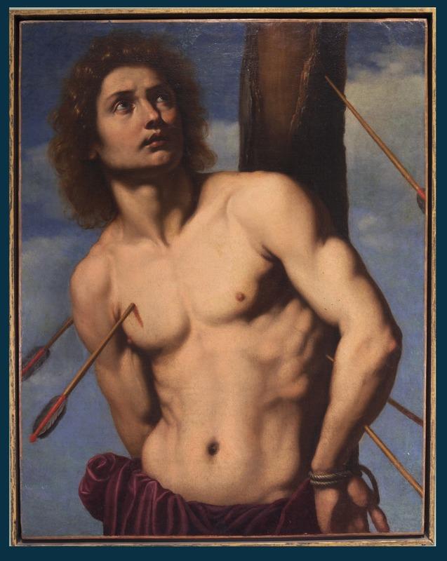 Ottavio VANNINI - Pittura - Saint Sebastian