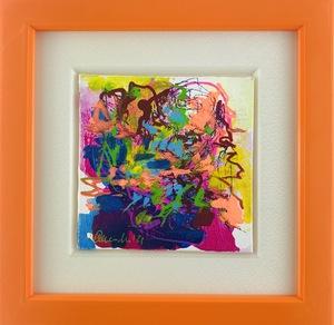 Nicole LEIDENFROST - Gemälde - Bunte Bäume