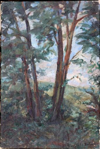 """Jean Jules DUFOUR - Painting - """"LA LISIERE DE LA FORÊT"""""""