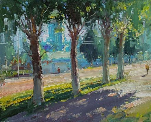 Yuriy DEMIYANOV - Gemälde - ALLEY