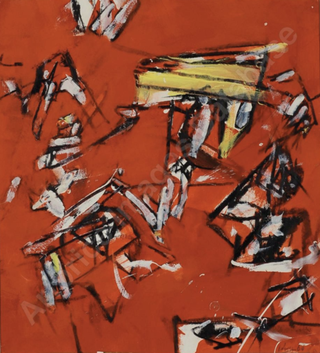 Valerio ADAMI - Painting - Senza titolo