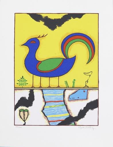 Martin BRADLEY - Grabado - Blue Bird