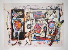 Jacques DOUCET - Print-Multiple - Rivages-Visages-Paysages du Sepik I