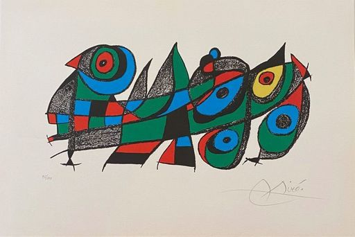 Joan MIRO - Print-Multiple - Miro Sculpteur