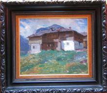 Oskar MULLEY - Pintura - Alpine Scene