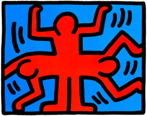 Keith HARING, Pop Shop VI (4)