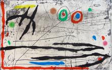 Joan MIRO (1893-1983) - Mark on the Wall I |Trace Sur La Paroi I