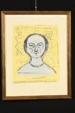 Massimo CAMPIGLI - Print-Multiple - Volto